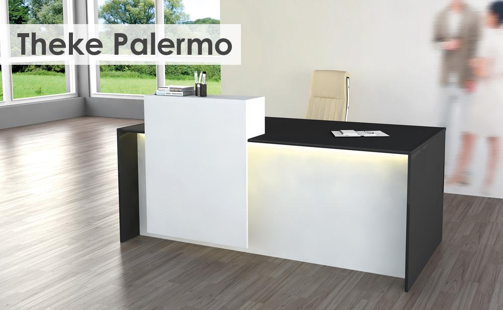 EOS Büromöbel - gdbdesign - Beratungs-Theke Palermo - Großzügiger ...