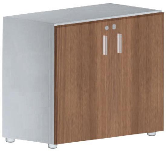 Büromöbel schrank holz  Niedriger Schrank mit Türen - EOS Büromöbel