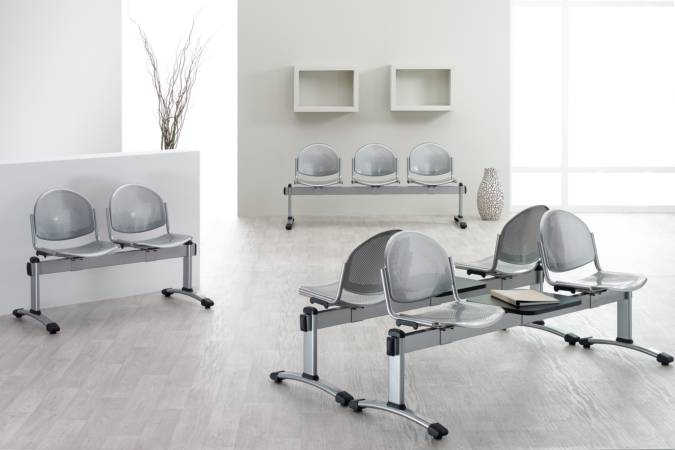 EOS Büromöbel - gdbdesign - Traversenbank Bonn 2-Sitzer