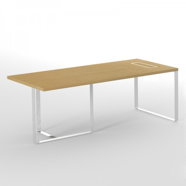 Schreibtisch 220 x 90 Links - EOS Büromöbel