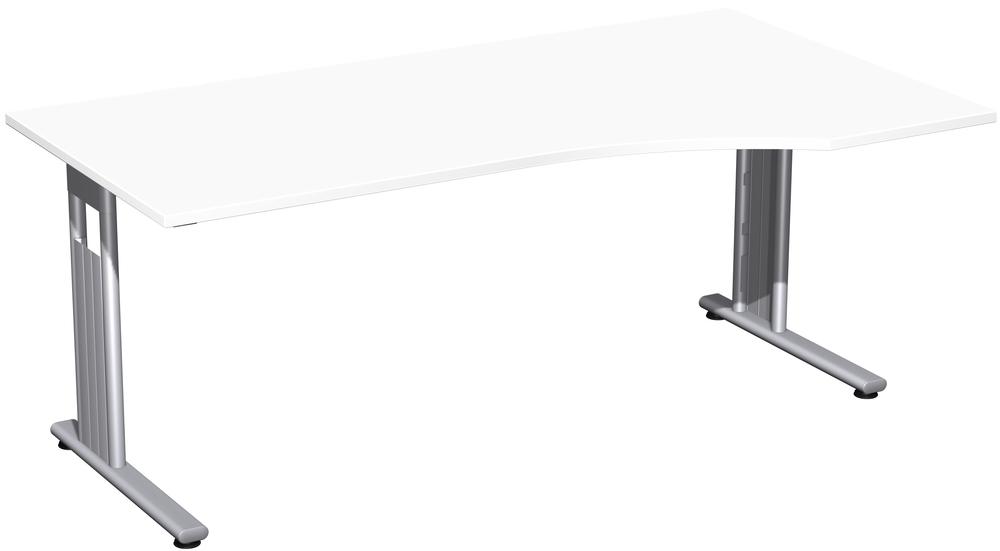 EOS Büromöbel - gdbdesign - Büro Schreibtisch mit Ansatz