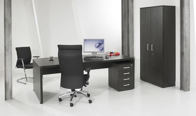 Chefschreibtisch Frankfurt 210x90 cm - EOS Büromöbel