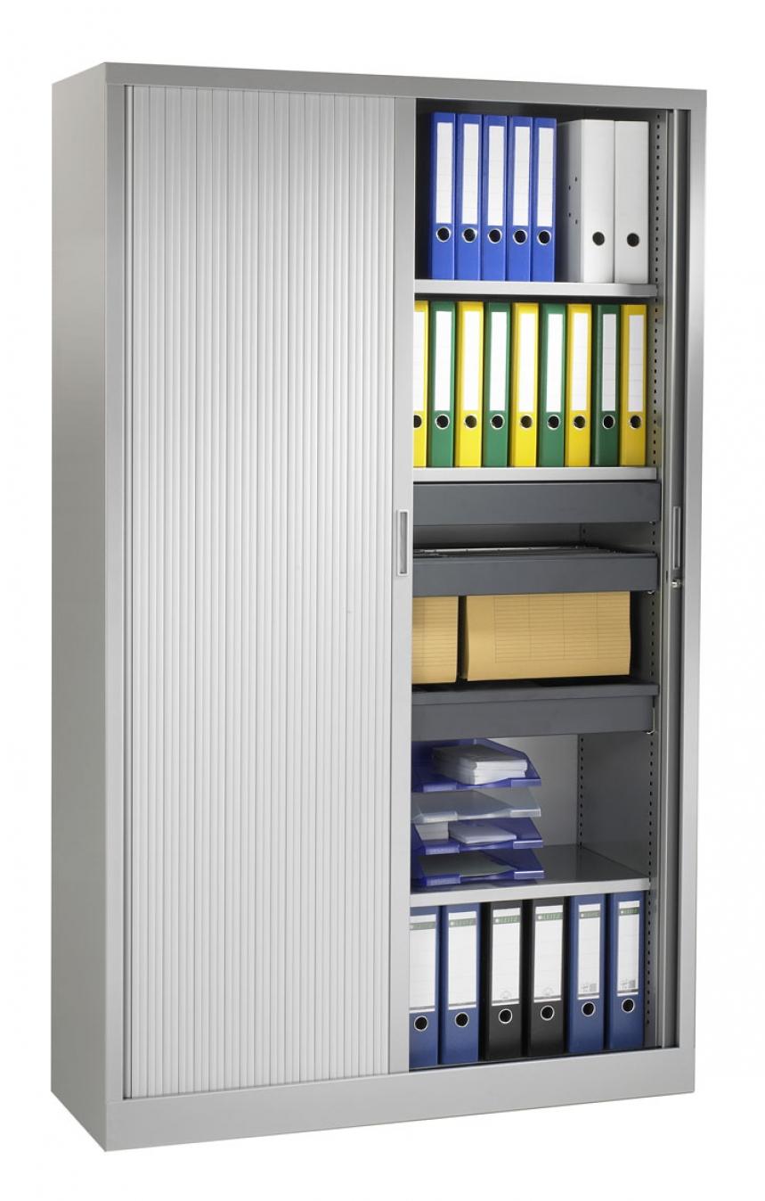 Hoher Rollladenschrank 198 cm - Breite 120 cm - EOS Büromöbel