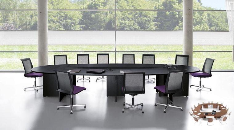 Xxl Konferenztisch Besprechungstisch Für Viele Personen Eos