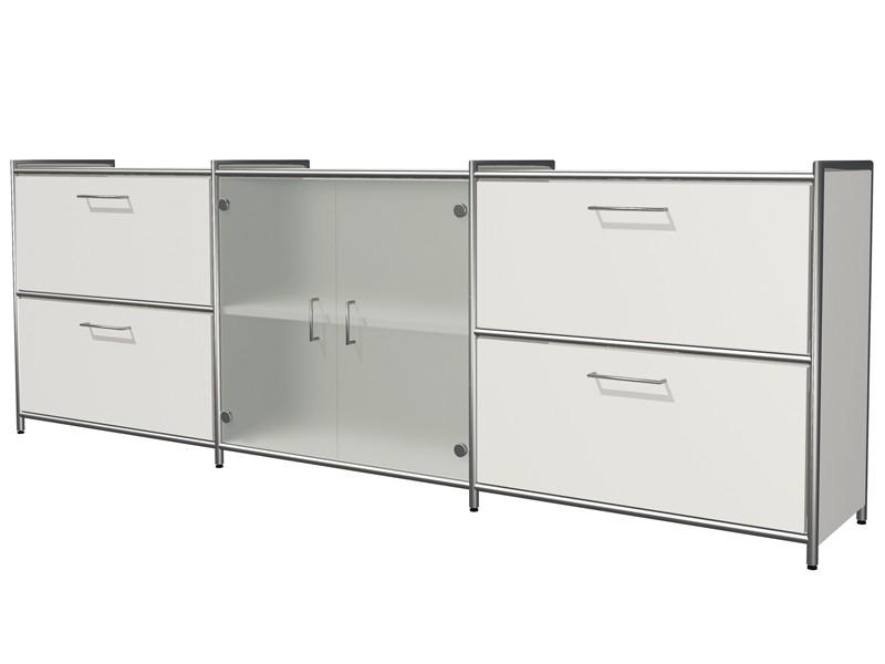 Design Sideboard Mit Glas Eos Buromobel